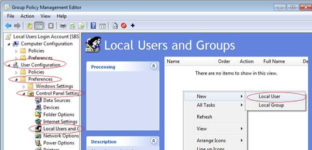 how to tell if win 7 user account is local